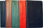 vinyl leather, jr. journal, leather