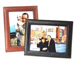leather single picture frame, leather 5x7, leather frame, leather picture