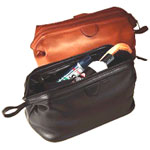 leather toiletry bag, leather bag, traditional bag