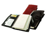 crocodile grained leather planner
