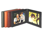 leather 4x6 landscape picture frame, picture frame, leather 4x6 picture frame