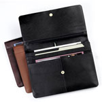 underarm portfolio, leather portfolios, leather journals, leather binder