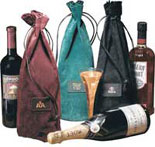 wine carrier, wine presentation tote, bonded leather, legal size portfolio, leather portfolio