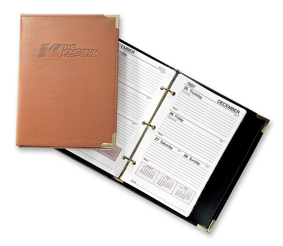 leather planners calendars day planners and calendar journal refills